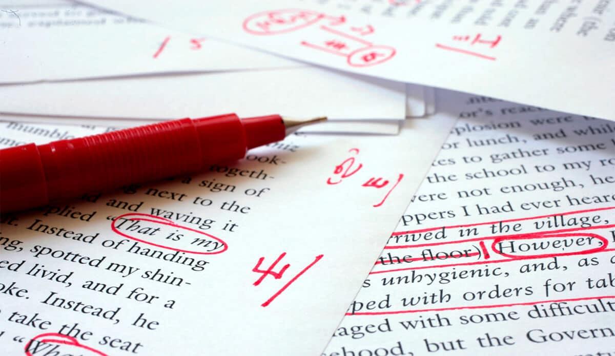 Korrekturlæsning er uden tvivl vigtigt
