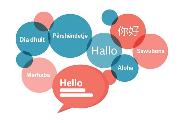 Oversættelse af hjemmeside og lokalisering
